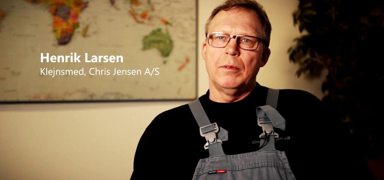 Chris Jensen A/S Nedsætter Energiforbruget Med 25 %